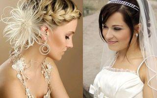 Свадебные прически на каре: обзор актуальных стилей с фото