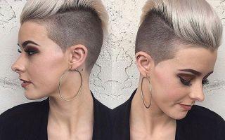 Женская стрижка андеркат: обзор вариантов стильной укладки