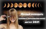 Лунный календарь стрижек август 2021: удачные даты для смены облика