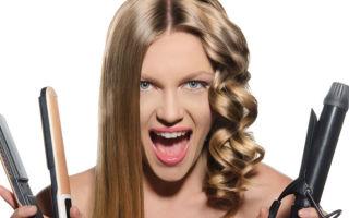 Варианты укладки утюжком для волос средней длины
