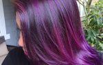 Фиолетовый цвет волос: 4 вида окрашивания и 6 оптимальных сочетаний
