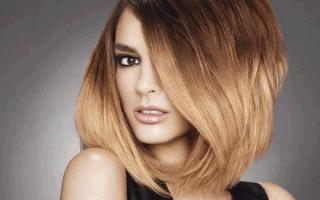 Омбре на русых волосах: интересные идеи с фото