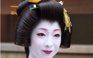Традиционные японские прически и современные интерпретации