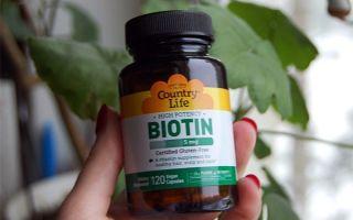 Биотин — секрет красивых волос