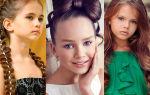 Прически для стильных девочек-подростков от 10 лет