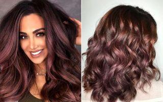 Яркость и дерзость бордового цвета волос: 17 лучших оттенков