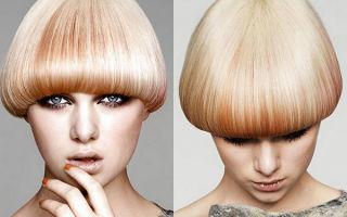 Стрижка шапочка для обладательниц коротких волос. Виды и способы укладки