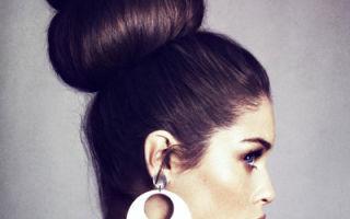 11 идей высоких причесок на длинные волосы: пошаговые фото