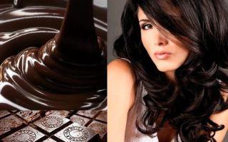 Шоколадное окрашивание волос: подбираем удачный оттенок