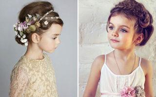 Прически для принцесс на выпускной в детский сад, 21 фото