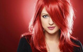 Красные волосы — 21 оттенок модного окрашивания для смелых