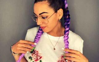 Боксерские косы с канекалоном — модный тренд