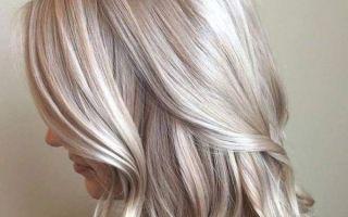 Пепельное мелирование: всё о волосах Снежной Королевы