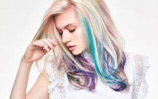 Цветное мелирование — яркий штрих для серых будней