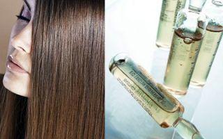 Витамины для волос в ампулах: аптечные препараты и профессиональные средства