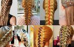 Как заплести косу с лентой: 15 идей модной прически