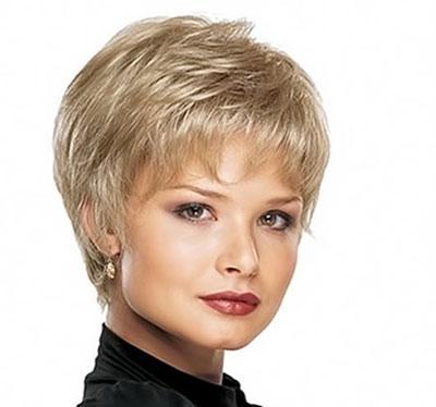 Женские стрижки в картинках на средние волосы 7
