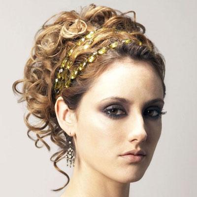 укладка на средние волосы в греческом стиле