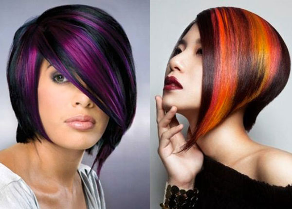"""Яркие цвета волос для """"осеннего"""" типа"""