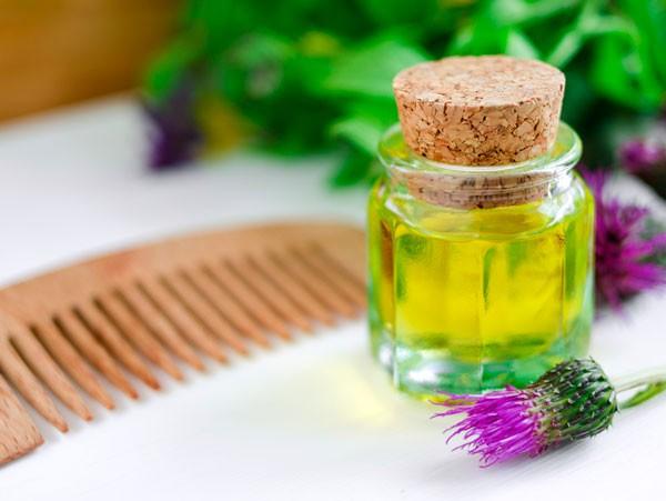 Как репейное масло влияет на волосы