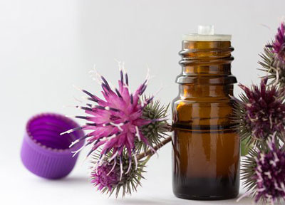 Как использовать репейное масло для сухих волос