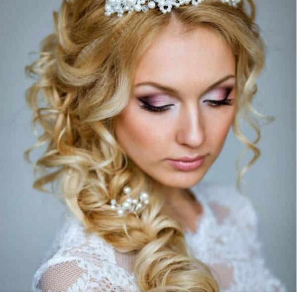 греческая коса для свадьбы