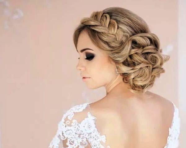 Модные свадебные прически новинки фото