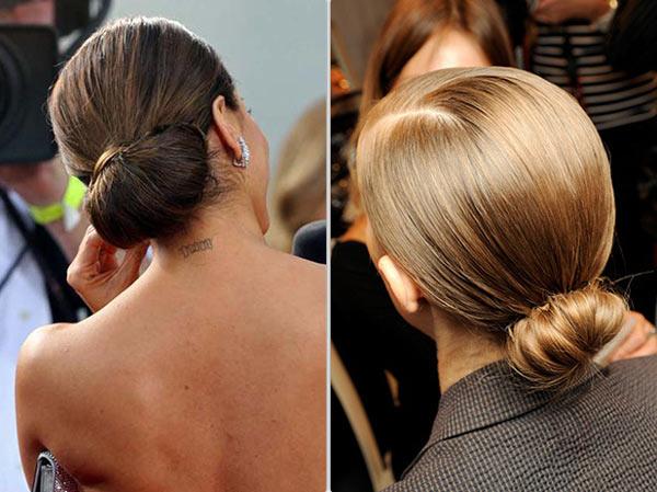 Как сделать пучок на длинные волосы, пошаговые фото