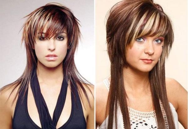 Стрижки и укладки на длинные волосы придающие объем