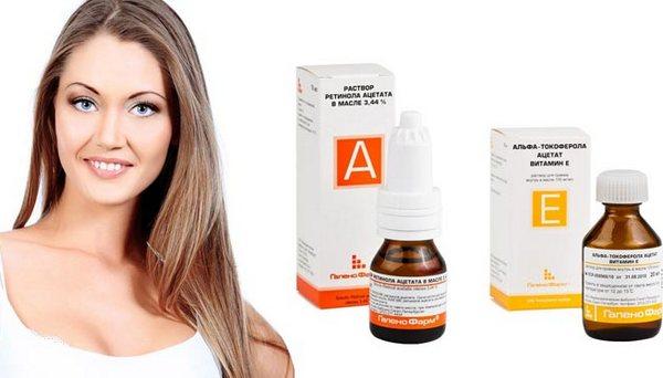 для волос с витамином