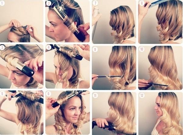 как накрутить волосы