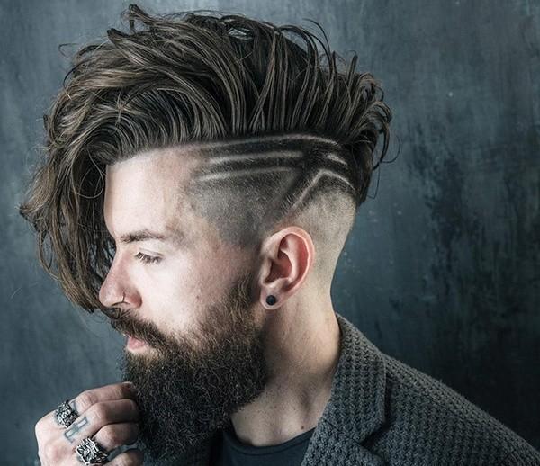 стрижка бритвой
