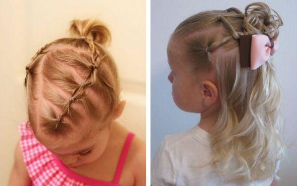 как заплести волосы девочке
