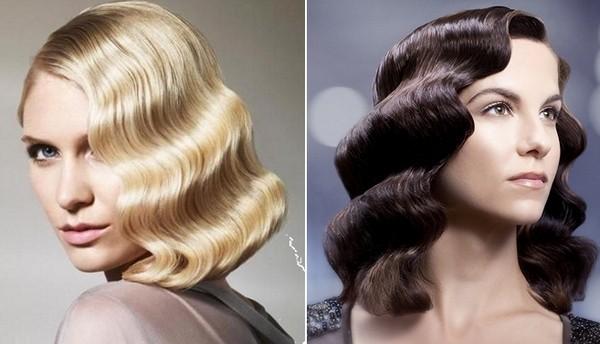 волосы волнами