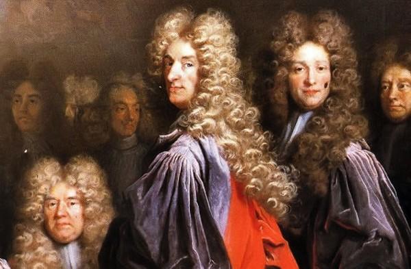 мужские прически 17 века