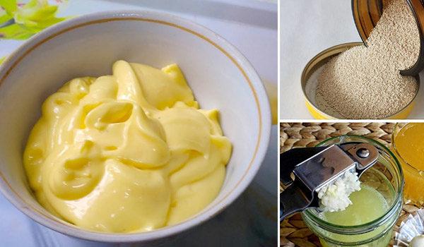 Дрожжи, мед и чеснок
