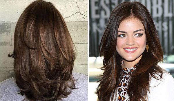 Каскад на тонкие волосы