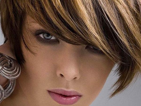 Колорирование на короткие волосы