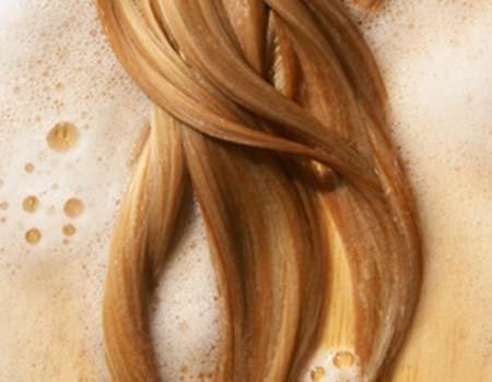 осветление волос пивом
