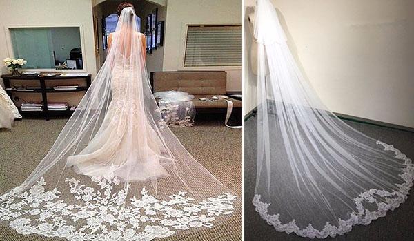 Фата для венчания