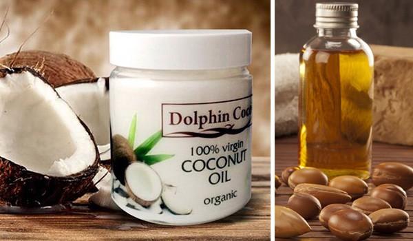 Кокосовое и аргановое масло