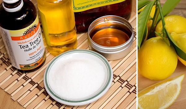 Лимон, масло, мед