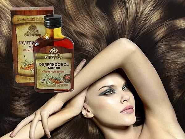 Облепиховое масло и волосы