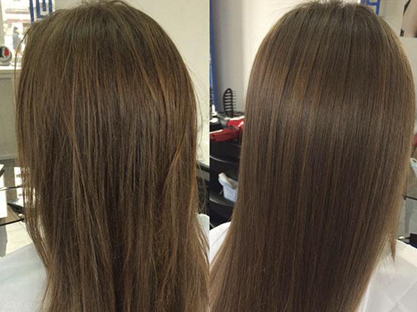 Действие компонентов на волосы