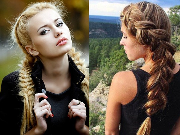 Девушки с косами