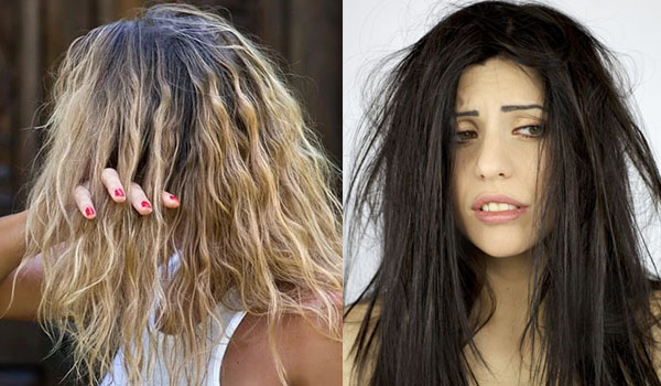 Сухие поврежденные волосы