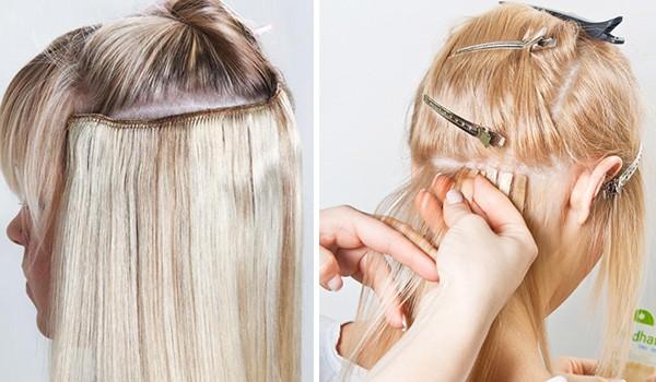 Трессы и ленты волос