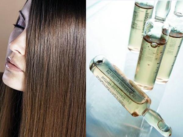 Аптечные витамины в ампулах для волос