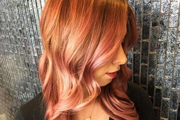 золотисто-розовый