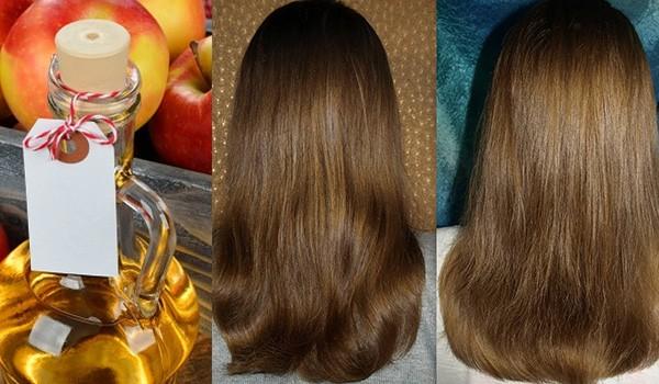 Яблочный уксус и волосы